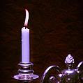 Lit Candle by Amanda Elwell