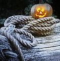 Lit Pumpkin by Amanda Elwell