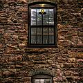 Lit Window by Mike Oistad