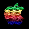 Lite Brite Macintosh by Benjamin Yeager