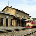 Lithuania. Silute Train Station. 2008 by Ausra Huntington nee Paulauskaite