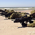 Lithuanian Special Forces Members Lie by Stocktrek Images