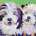 Litter Mates by Pat Saunders-White