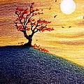 Little Autumn Tree by Danielle R T Haney