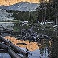 Little Bear Peak Reflection by Aaron Spong