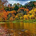 Little Beaver Creek Bend by John M Bailey