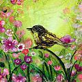 Little Bird In Green by Ashleigh Dyan Bayer