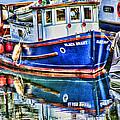 Little Blue Boat Hdr by Randy Harris