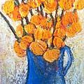 Little Blue Jug by Sherry Harradence