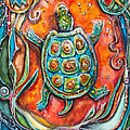 Little Brother Turtle II by Patricia Allingham Carlson