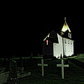 Little Church At Night by Jasna Buncic
