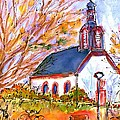 Little Church In Ginsheim by Ingrid  Becker