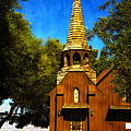 Little Church Of The West by Julie Palencia