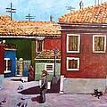 Little Corner Of Venice by Caroline Street