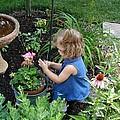 Little Gardener by Teresa Schomig
