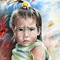 Little Girl From Tahiti by Miki De Goodaboom