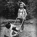 Little Girl With Her Teddy by Gerlinde Keating - Galleria GK Keating Associates Inc