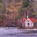 Little House On The Lake by Jean-Pierre Ducondi
