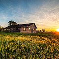 Little House On The Prairie by Davorin Mance