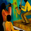 Little Jazz Trio I by Larry Martin