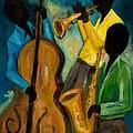 Little Jazz Trio IIi by Larry Martin