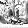 Little John And Robin Hood Walk by Kaamran Hafeez