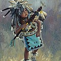 Little Kootenai Dancer by Karen Noles