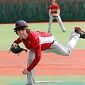 Little League Pitcher by Lisa Billingsley
