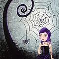Little Miss Muffet by Oddball Art Co by Lizzy Love