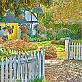 Little Newton Cottage by Mark Llewellyn