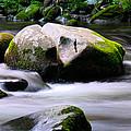 Little Piegon River Gatlinburg Tennessee by Jerome Lynch