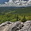 Little Pinnacle Grayson Highlands Va by Mel Hensley