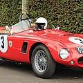 Little Red Ac Bristol Racer by Robert Phelan