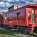 Little Red Caboose by Guy Whiteley