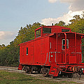 Little Red Caboose by HH Photography of Florida