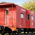 Little Red Caboose by Paula OMalley
