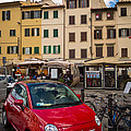 Little Red Fiat by Inge Johnsson