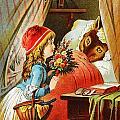 Little Red Riding Hood by Carl Offterdinger