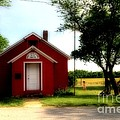 Little Red School House by Kathleen Struckle