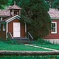 Little Red Schoolhouse by Jim Cotton