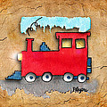 Little Red Train by Paula Ayers