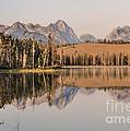 Little Redfish Lake Reflections by Robert Bales