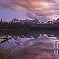 Little Redfish Lake Sunset Stanley Idaho by Vishwanath Bhat