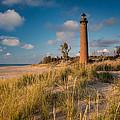 Little Sable Light Michigan by Steve Gadomski