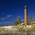 Little Sable Point Light No.0285 by Randall Nyhof