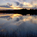 Little Silver Lake Sunset by Terri Waselchuk