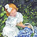 Sophies Hydrangeas by Carol Wisniewski