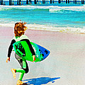 Little Surfer Dude by Alice Gipson