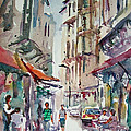 Little Trip At Exotic Streets In Istanbul by Faruk Koksal