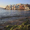 Little Venice At Sunset Mykonos Town Cyclades Greece  by Ivan Pendjakov